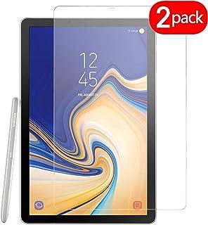 Lobwerk - Protector de pantalla para Samsung Galaxy Tab S4 SM-T830 T835 (10.5 pulgadas) transparente 2 cristales protectores.