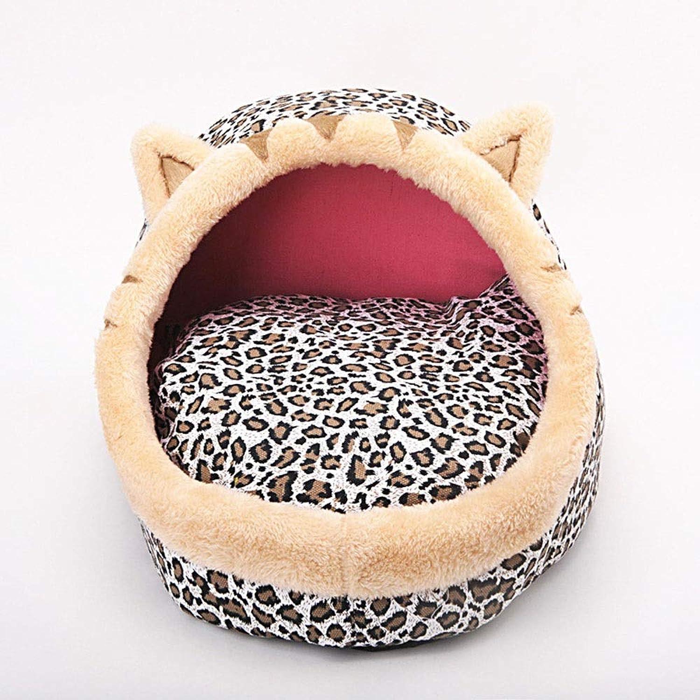 FELICIOO Pet Nest Fashion Kennel Cat Bed Comfort Nest (color, Size   S)