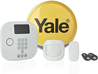 Yale IA-230 Intruder Alarm Plus Kit, Phone Call Alerts, Contactless Control, White