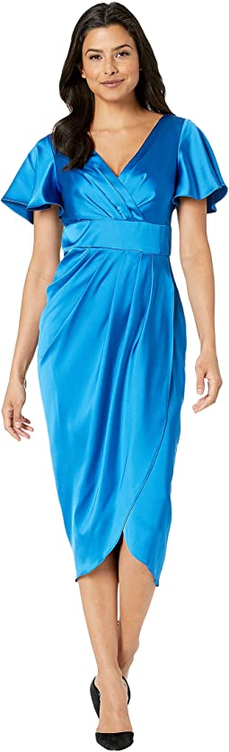 Drapey Satin Slip Dress