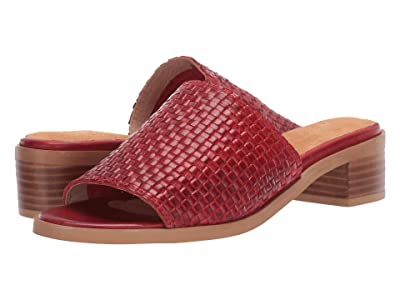 Seychelles Hard to Find (Red Leather) Women