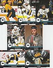 2017-18 Upper Deck Hockey Series 1 Nashville Predators Team Set of 7 Cards: Viktor Arvidsson(#107), Calle Jarnkrok(#108), Filip Forsberg(#109), Mattias Ekholm(#110), P.K. Subban(#111), Kevin Fiala(#112), Pekka Rinne(#113)