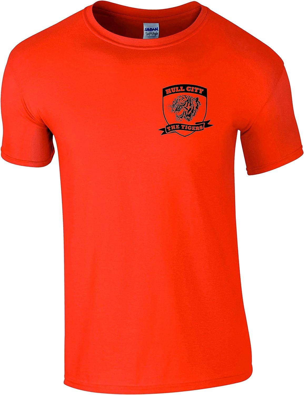 Detalles sobre Hull City AFC Shield Camiseta Los Tigres 1904 ...