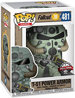 Funko POP! Games: Fallout 76 - Green T-51 Power Armor #481 - Special Edition Exclusive