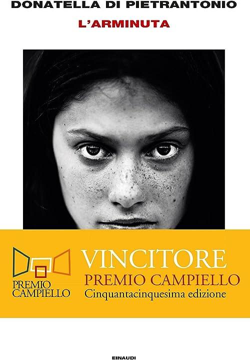 L`arminuta (italiano) copertina rigida einaudi 978-8806232108
