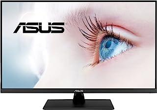 """ASUS 31.5"""" 2K Monitor (VP32AQ) - WQHD (2560 x 1440), IPS, 100% sRGB, HDR10, 75Hz, Speakers, Adaptive-Sync/FreeSync, Low Bl..."""