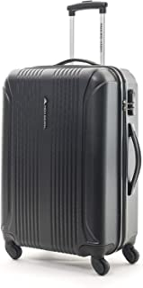High Sierra Bar Lite Hardside Spinner Luggage 55cm with 3 digit Number Lock - Black