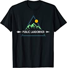 Public Land Owner Shirt Conservation Gift