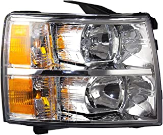 Passengers Headlight Headlamp Lens Replacement for Chevrolet Pickup Truck 22853028