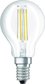 OSRAM 4052899941670 LED Bulb Socket: E14, 4 Watt, 40-Watt-Replacement, Warm White
