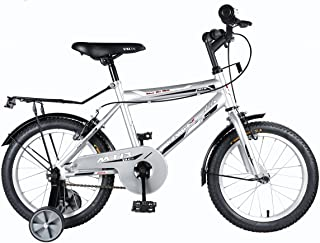 "Vaux Bicycle for Kids- Vaux Plus 16T Kids Bicycle for Boys. Ideal for Cyclist with Height (3'5"" – 4') – Silver."