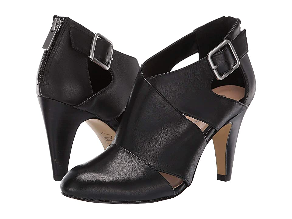 Bella-Vita Nicolina (Black Leather) Women