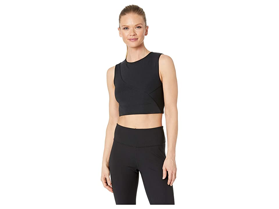 Nike Pro Hypercool Rib Tank (Black/Clear) Women