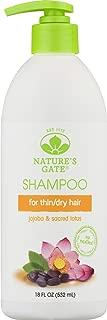 Nature's Gate Jojoba Revitalizing Shampoo for Damaged Hair, 18 Ounce (Pack of 4)