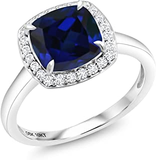 Best lab created white sapphire engagement rings Reviews