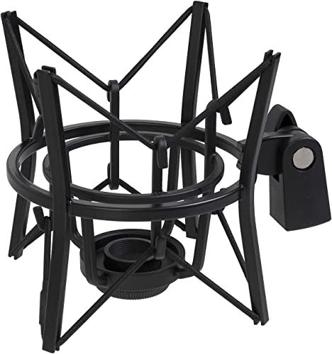popular LyxPro 2021 MKS1-B Condenser Spider 2021 Microphone Shockmount, Anti Vibration and Isolation - Black online