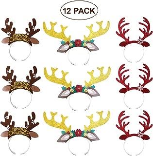 Best cardboard reindeer antlers Reviews