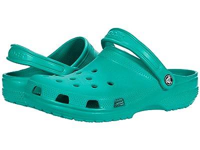 Crocs Classic Clog (Deep Green) Clog Shoes