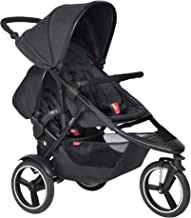 Phil & Teds 2019 Dash Buggy with Doubles Kit (Black)