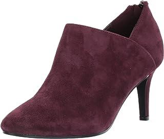 Bandolino Footwear Women's Dawn Ankle Boot, Sangria, 5 M US