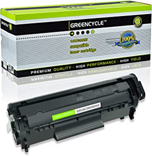 GREENCYCLE Toner Cartridge Replacement for HP 12A Q2612A (Black) Laserjet 1010 1012 1018 1020 Printer
