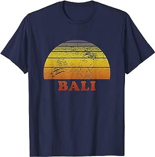 Bali Indonesia Retro Vintage T-Shirt 70s Throwback Surf Tee