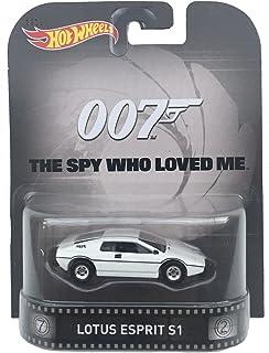"Lotus Esprit S1 James Bond 007 ""Spy Who Loved Me"" Hot Wheels 2015 Retro Series 1/64 Die Cast Vehicle"