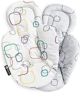 4moms New Reversible and Machine Washable Newborn Insert – Soft, Plush Fabric