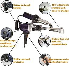 Weldy Ex3 Hand Extrusion Welder Gun Plastic Handheld Extruder Welding Gun PP HDPE LDPE Pipe Welding Machine (220V Extruder)