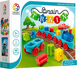SmartGames SG040 Brain Train Board Preschool Puzzle Game