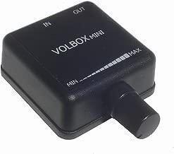 Volbox inline audio volume control attenuator 3.5mm 1/8