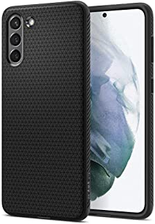 Spigen Liquid Air hoesje Compatibel met Galaxy S21 -Matte Black