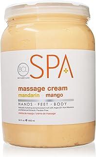 BCL SPA Massage Cream Mandarin + Mango,64 oz