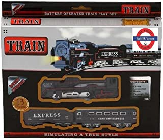 Sahibuy Battery Operated Train, Black