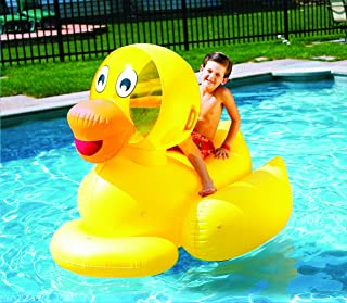 Swimline Giant Ducky Inflatable Ride-On