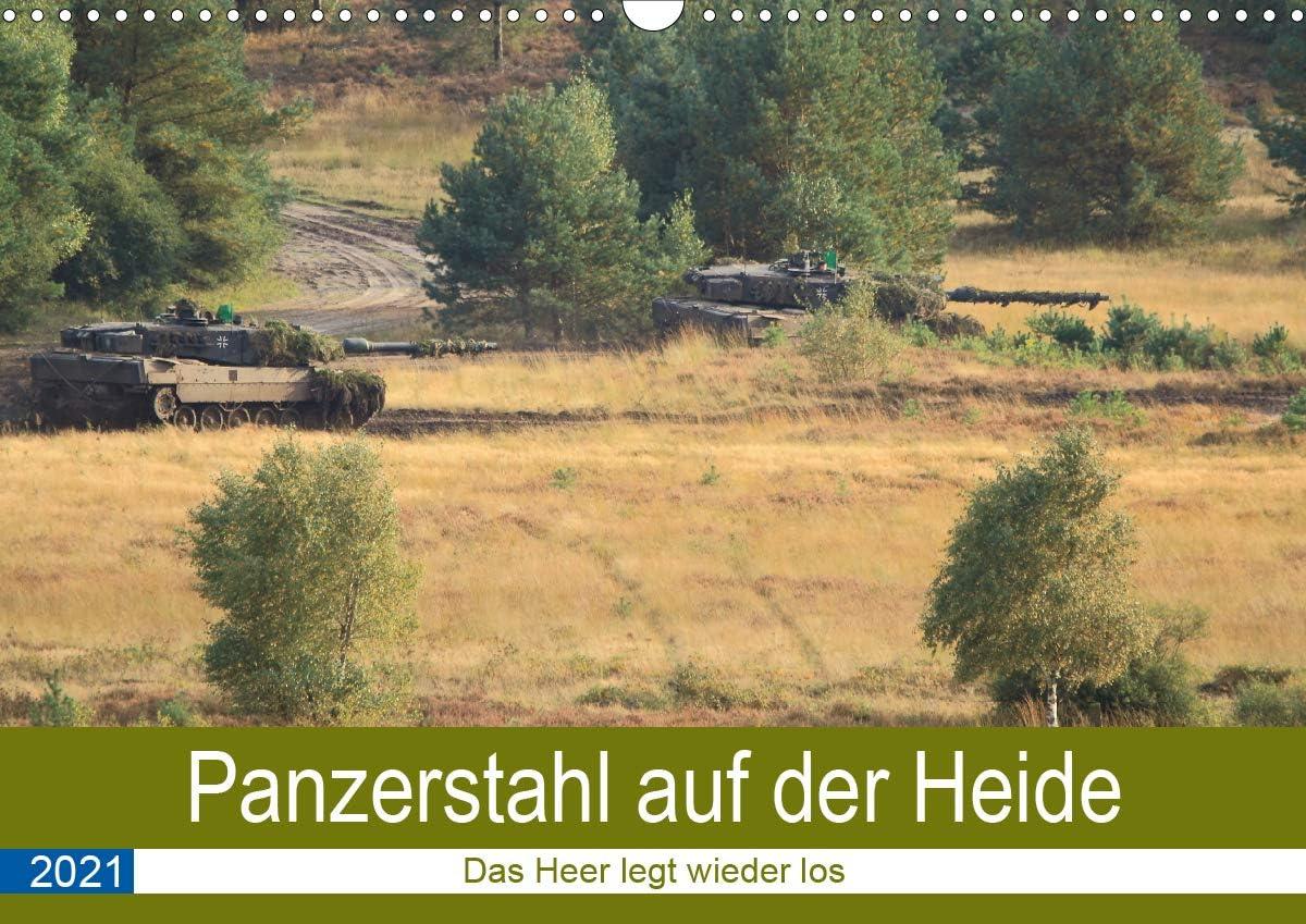 Panzerstahl auf favorite Popular brand der Heide – Das Los Wieder Heer Wandkalend legt