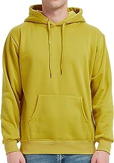 PIZOFF Men's Basic Pullover Hooded Sweatshirt