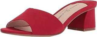 صندل My Girl Slide نسائي من Chinese Laundry أحمر مصاصات جلد سويدي، 7 M US