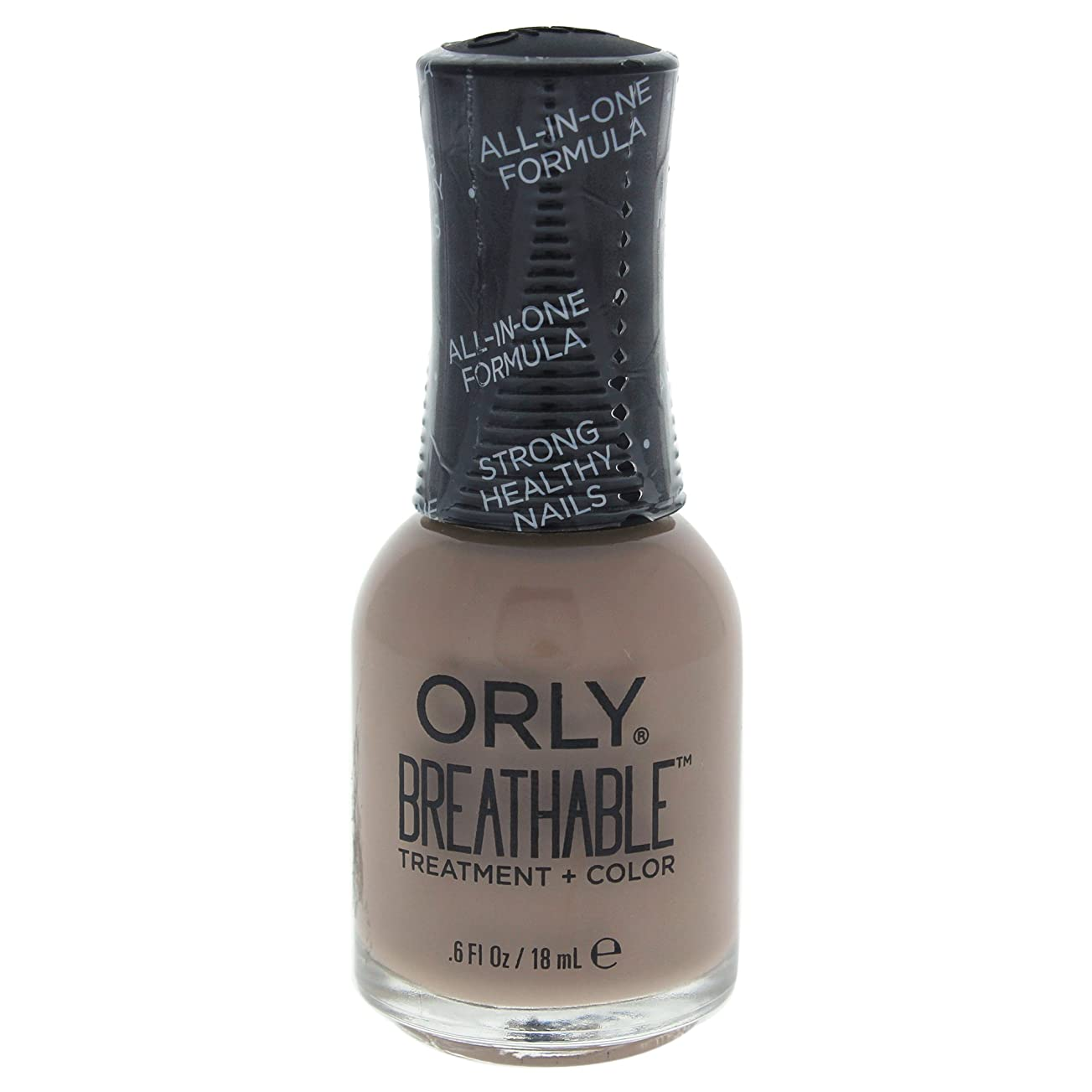 名義でいろいろ超えてOrly Breathable Treatment + Color Nail Lacquer - Down To Earth - 0.6oz / 18ml