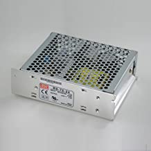 Mean Well RS-75-5 Enclosed Switching AC-to-DC Power Supply, Single Output, 5V, 0-12A, 60W, 1.5