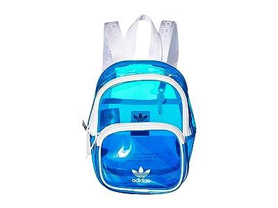 adidas Originals Originals Mini Tinted Backpack (Bluebird/White) Backpack Bags