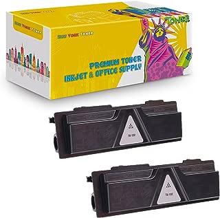 New York TonerTM New Compatible 2 Pack TK132 High Yield Toner for Kyocera-Mita - FS 1028MFP | 1128MFP | 1300D | 1300DN | 1350DN . -- Black
