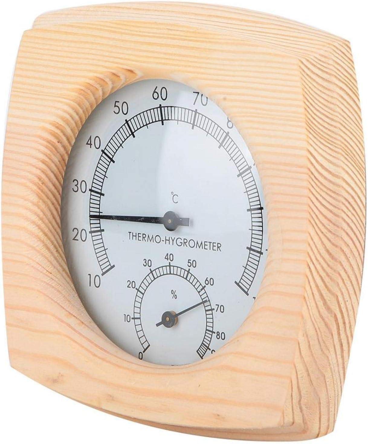 GLOGLOW 25% OFF Sauna Room Hygrometer Indoor Temperature 4 years warranty Humidity
