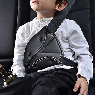 Cheelom Cinturón de seguridad para niños,Seguridad Triángulo posicionador para la gente corta, firme auto hombro correa pa...