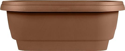 "Bloem Deck Balcony Rail Planter 24"" Chocolate"