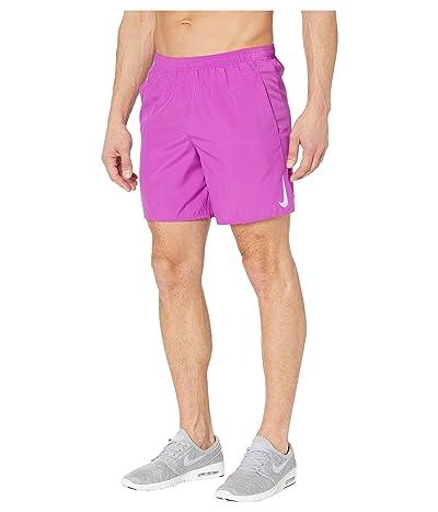 Nike Challenger Shorts 7 BF (Vivid Purple/Reflective Silver) Men