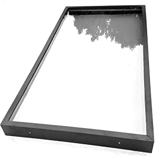 SIG Skylights CM3B 24 x 48 Curb Mounted Glass Skylight w/Bronze Insulated Glass, 2