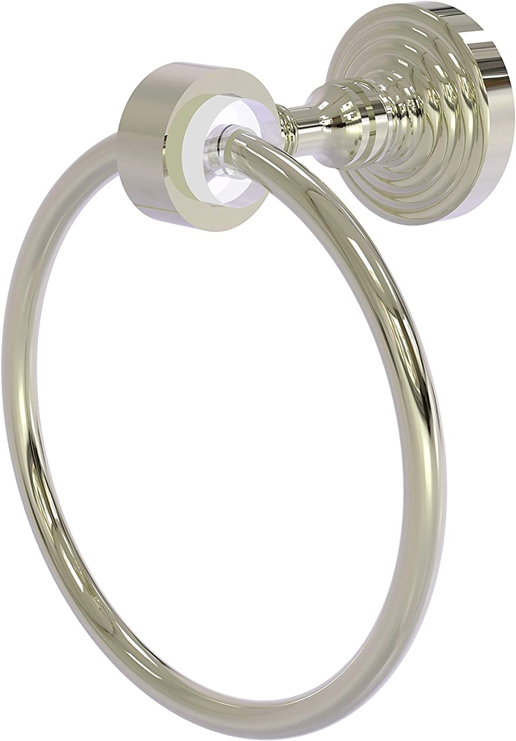 Allied Brass PG-16-PNI Towel Rings, Polished Nickel
