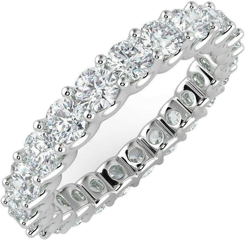 Buyfinediamonds - anello in oro bianco 18k con diamante rotondo 1.00 ct FDR0320.1