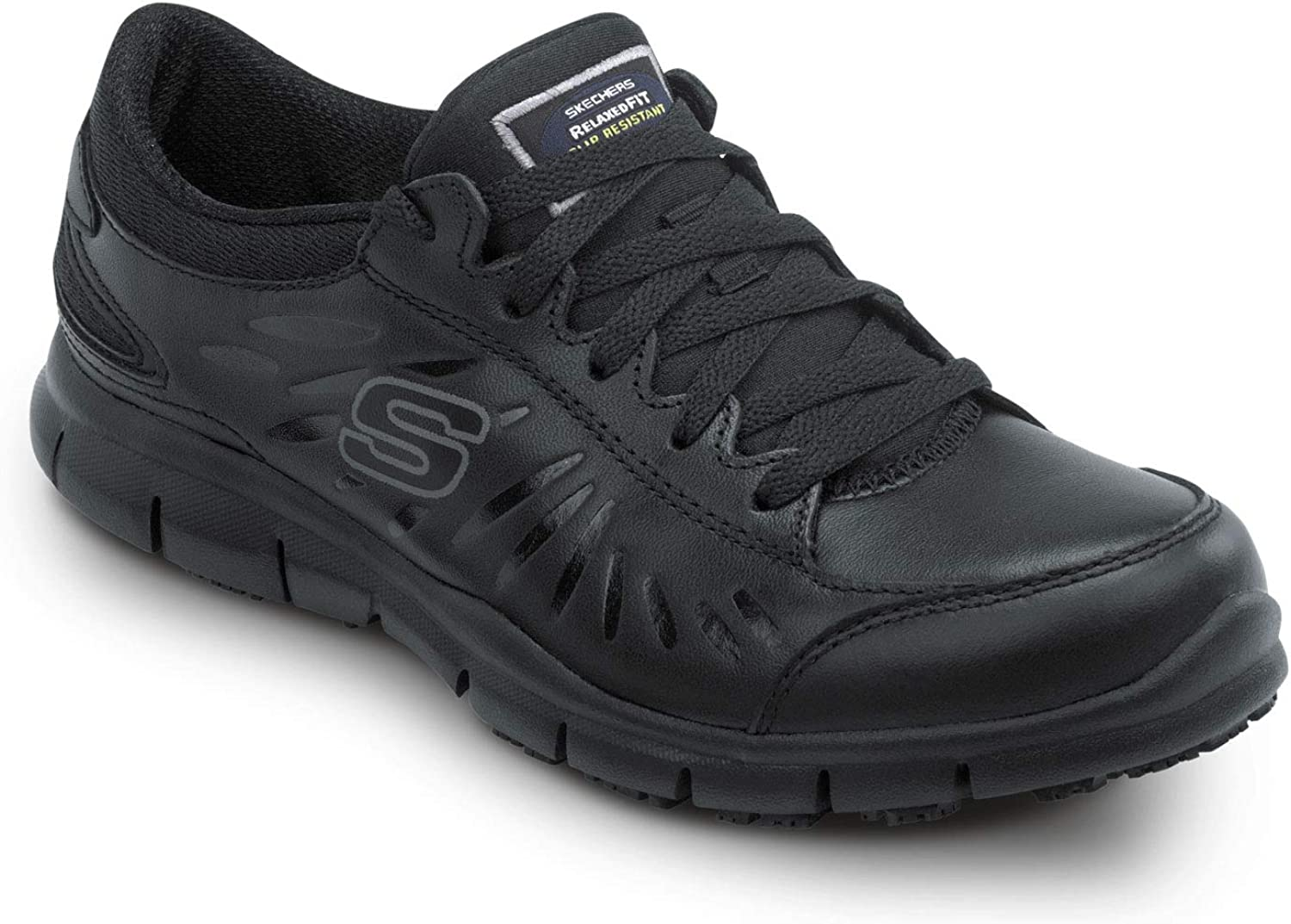 Skechers Work Stacey - Women's Soft Toe, Slip Resistant, Low Athletic : Clothing, Shoes & Jewelry